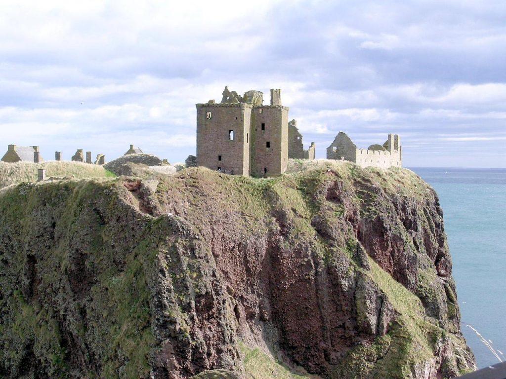 Dunnotar Castle, Melanie Harrell space clearing