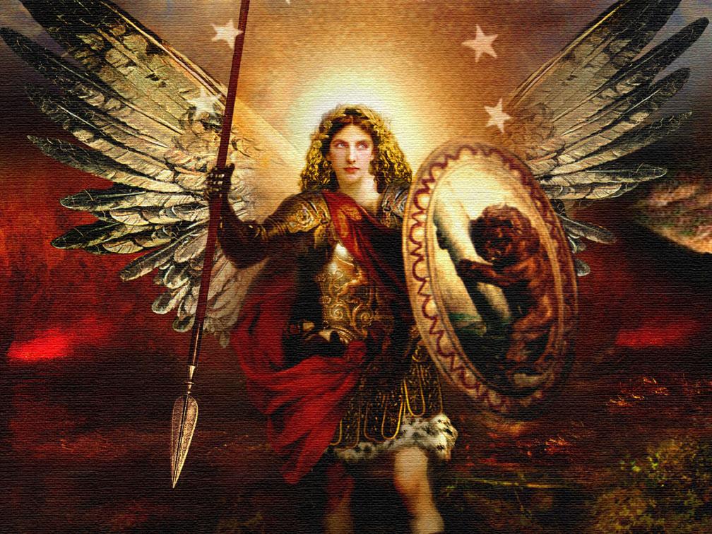 archangel Michael, Melanie Harrell, Houston